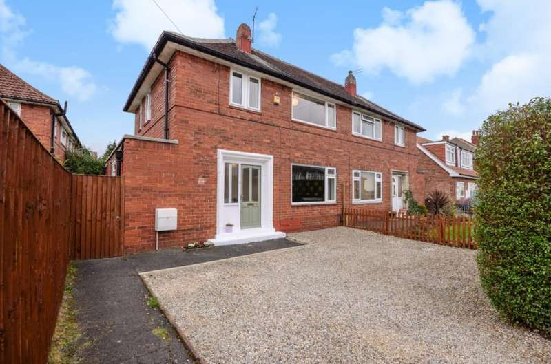 2 Bedrooms Semi Detached House for sale in ST MARTINS AVENUE, LEEDS, LS7 3LF