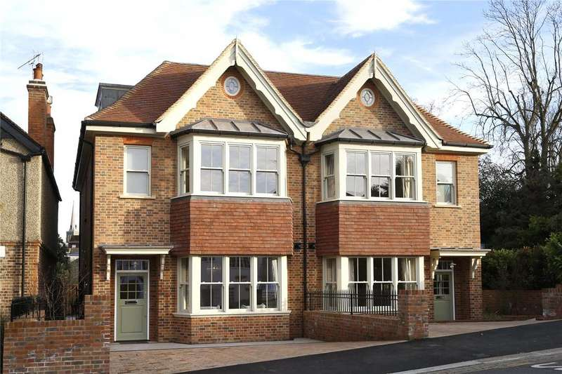 4 Bedrooms Semi Detached House for sale in Marryat Place, Wimbledon, London, SW19