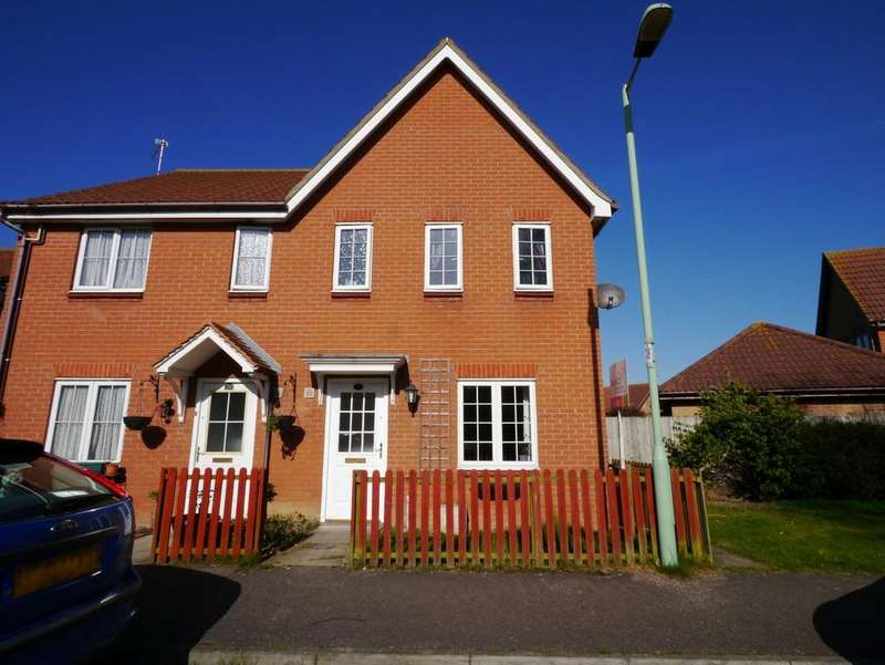 3 Bedrooms Semi Detached House for sale in Dorley Dale, Carlton Colville, Lowestoft