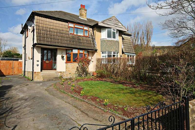 3 Bedrooms Semi Detached House for sale in Lucy Hall Drive, Baildon