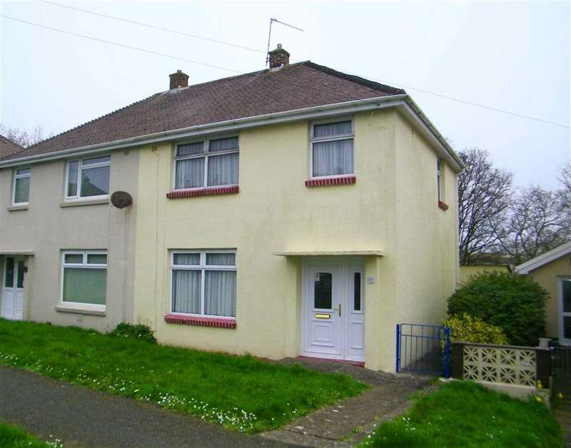 3 Bedrooms Semi Detached House for sale in Coombs Drive, Milford Haven