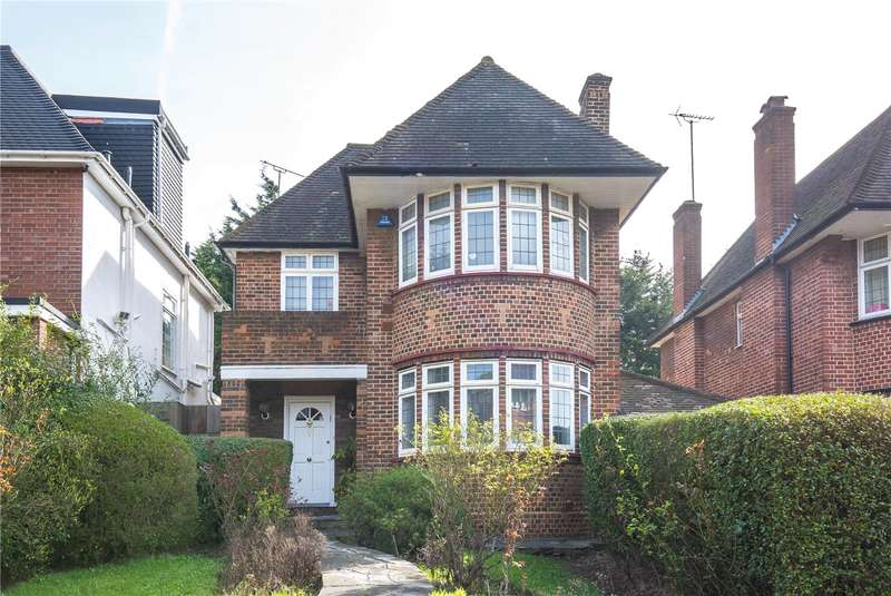 4 Bedrooms Detached House for sale in Beaufort Drive, Hampstead Garden Suburb, London, NW11