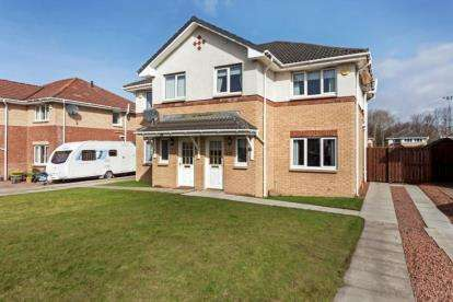 3 Bedrooms Semi Detached House for sale in Beltonfoot Way, Wishaw, North Lanarkshire