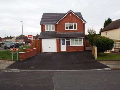 4 Bedrooms Detached House for sale in Hillside, Walsall, West Midlands