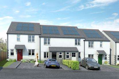 3 Bedrooms End Of Terrace House for sale in Roche, St Austell