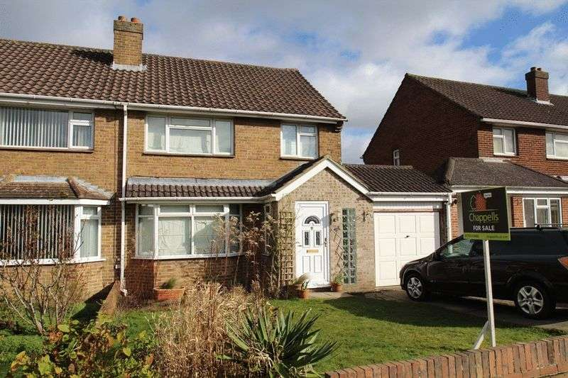 3 Bedrooms Semi Detached House for sale in Brixham Avenue, Old Walcot, Swindon