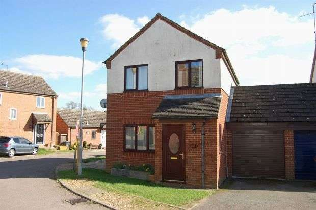 3 Bedrooms Detached House for sale in Harry Close, Long Buckby, Northampton NN6 7YU