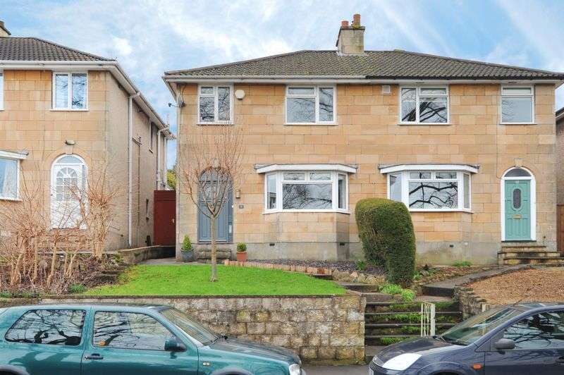 3 Bedrooms Semi Detached House for sale in Fairfield Park, Bath