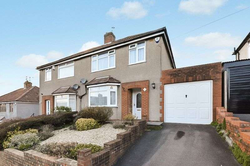 3 Bedrooms Semi Detached House for sale in Hillyfield Road, Bristol