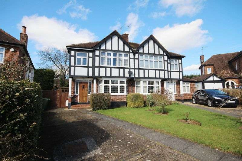 3 Bedrooms Semi Detached House for sale in The Lawns, Hatch End