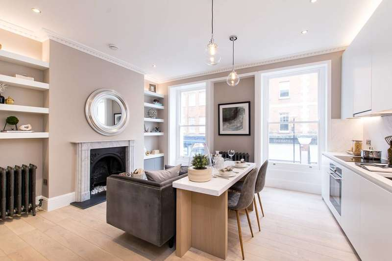 4 Bedrooms Flat for sale in Marchmont Street, Bloomsbury, WC1N