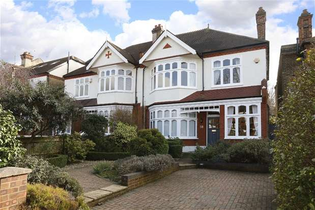 5 Bedrooms Semi Detached House for sale in Chestnut Road, London