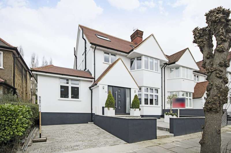 5 Bedrooms Semi Detached House for sale in Dunstan Road, Golders Green, NW11