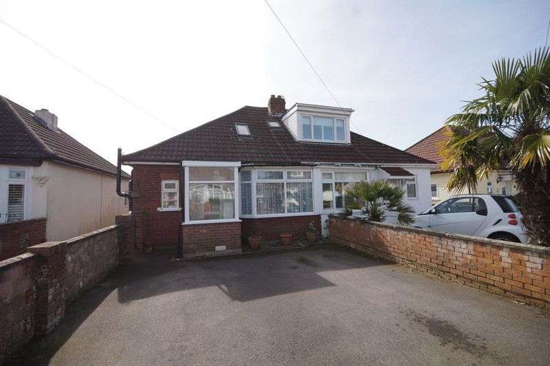 3 Bedrooms Semi Detached Bungalow for sale in Edgar Crescent, Portchester