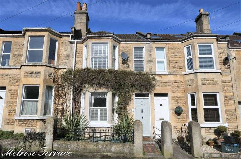 3 Bedrooms Terraced House for sale in Melrose Terrace, Fairfield Park, Bath