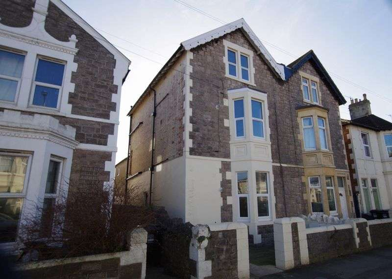 1 Bedroom Flat for sale in Clevedon Road, Weston-Super-Mare