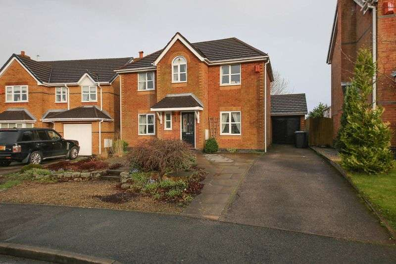 4 Bedrooms Detached House for sale in Copeland Drive, Standish, Wigan