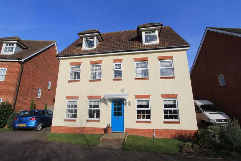 5 Bedrooms Detached House for sale in Flamingo Close, Hatfield
