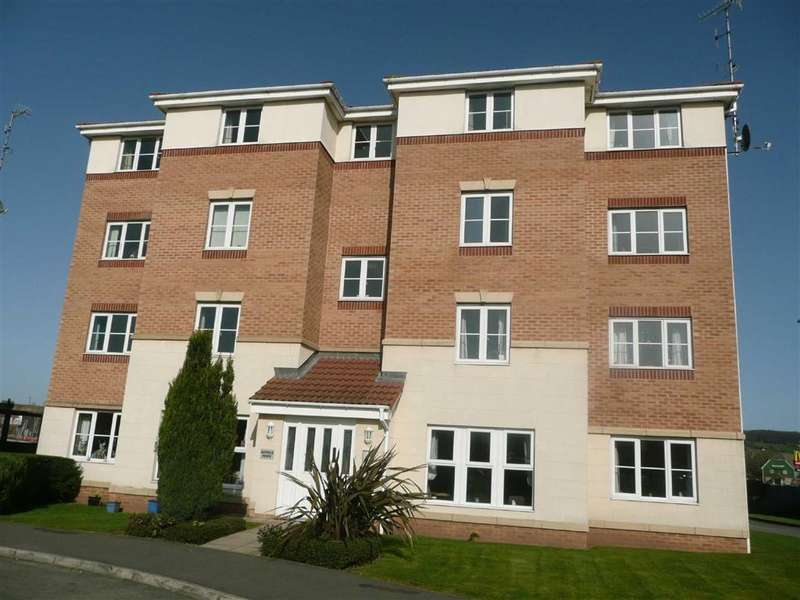 2 Bedrooms Apartment Flat for sale in Hatfield House, Forge Drive, Chesterfield, Derbyshire, S40