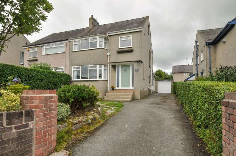 3 Bedrooms Semi Detached House for sale in Belmont Road, Bangor, North Wales