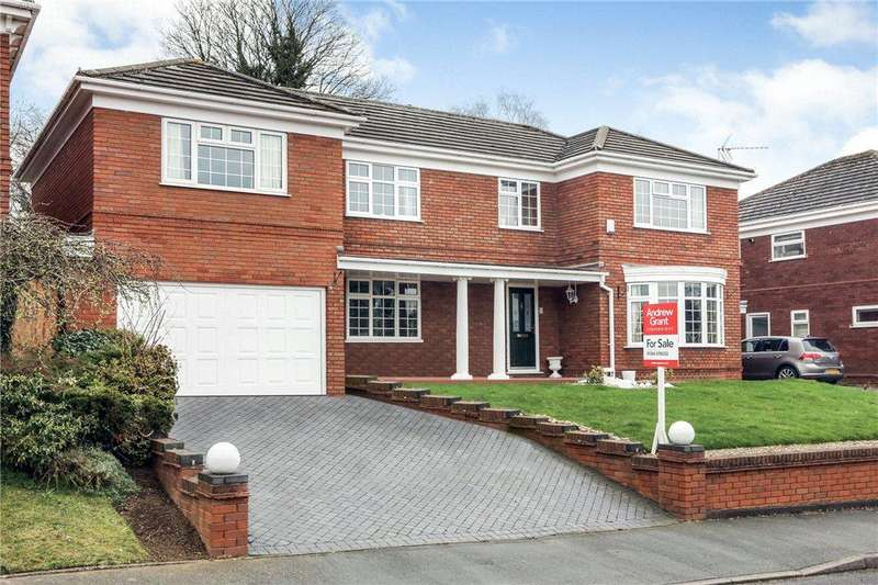5 Bedrooms Detached House for sale in Shaftesbury Avenue, Pedmore, Stourbridge, West Midlands, DY9