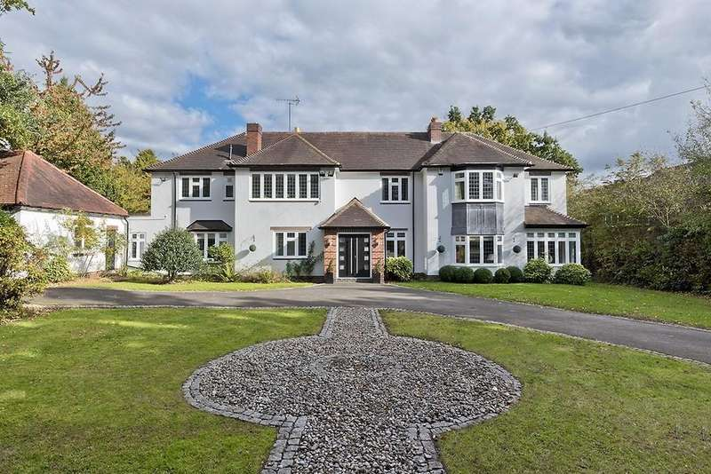 5 Bedrooms Detached House for sale in Old Station Road, Hampton In Arden