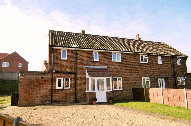 3 Bedrooms Semi Detached House for sale in Beeston Regis