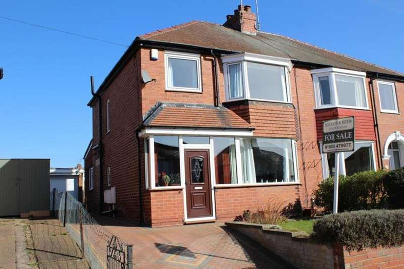 3 Bedrooms Semi Detached House for sale in 16 South Parade, Worksop