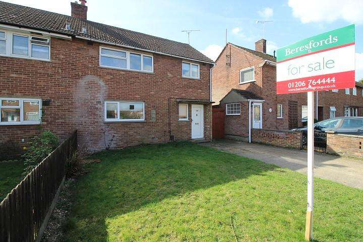 3 Bedrooms Semi Detached House for sale in Monkwick Avenue, Colchester, Essex, CO2