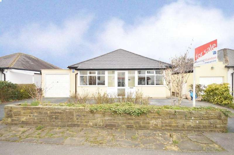 3 Bedrooms Detached Bungalow for sale in Tranmere Drive, Guiseley, Leeds, West Yorkshire