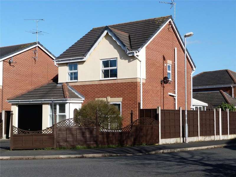 3 Bedrooms Detached House for sale in Fox Covert Way, Leighton, Crewe, Cheshire, CW1