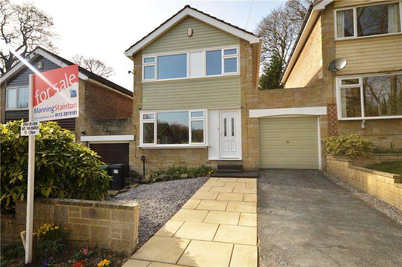 3 Bedrooms Detached House for sale in Newlay Wood Close, Horsforth, Leeds, West Yorkshire