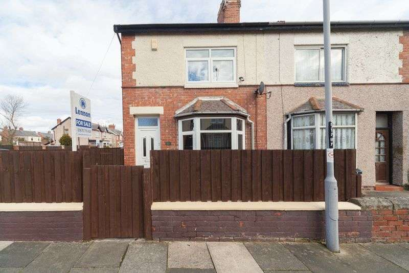2 Bedrooms Semi Detached House for sale in Plessey Avenue, Blyth