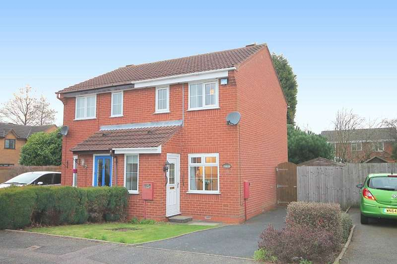 2 Bedrooms Semi Detached House for sale in Westmorland Close, Fazeley, Tamworth, B78 3XA
