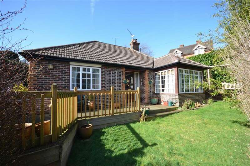 2 Bedrooms Detached Bungalow for sale in Underhill Lane, Lower Bourne, Farnham