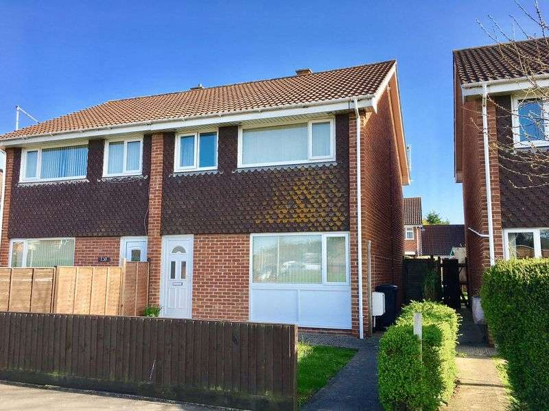 3 Bedrooms Semi Detached House for sale in Meda Vale, Worle, Weston-Super-Mare