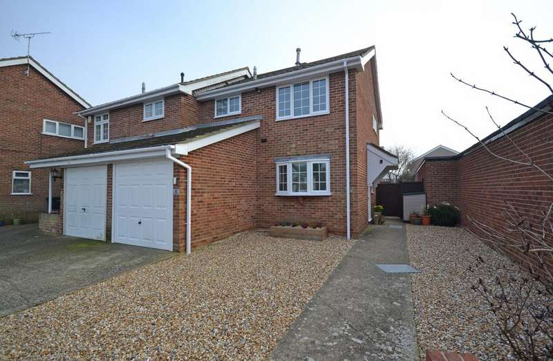 3 Bedrooms Semi Detached House for sale in Coppice Lane, Selsey, PO20
