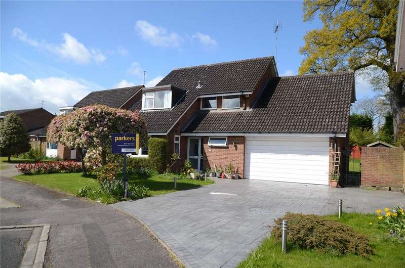 4 Bedrooms Detached House for sale in Orkney Close, Calcot, Reading, Berkshire, RG31
