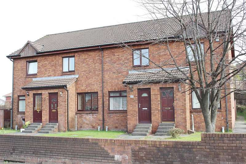 2 Bedrooms Terraced House for sale in WOODCROFT GARDENS, BONHILL, ALEXANDRIA G83