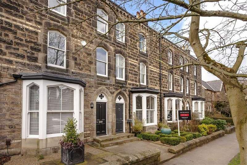 4 Bedrooms Terraced House for sale in West End Avenue, Harrogate, North Yorkshire