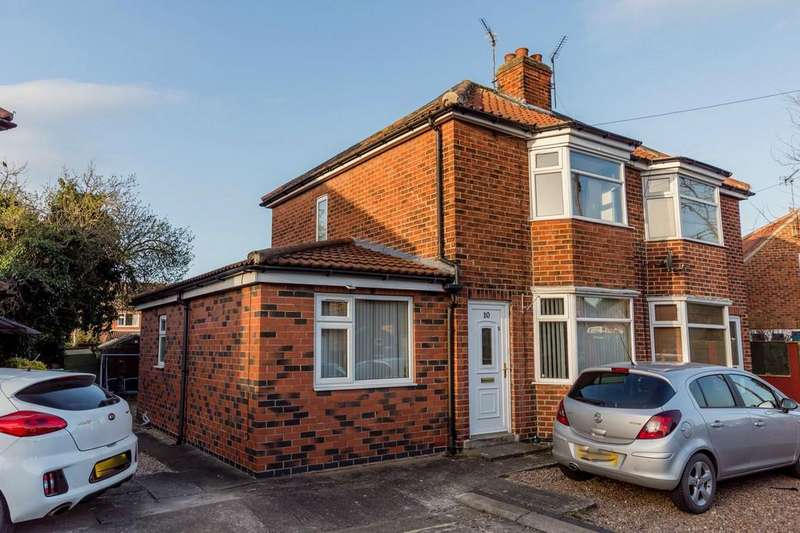 3 Bedrooms Semi Detached House for sale in Endfields Road, Fulford, York