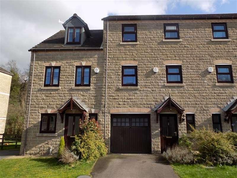 4 Bedrooms Town House for sale in Mereside, Waterloo, Huddersfield, HD5