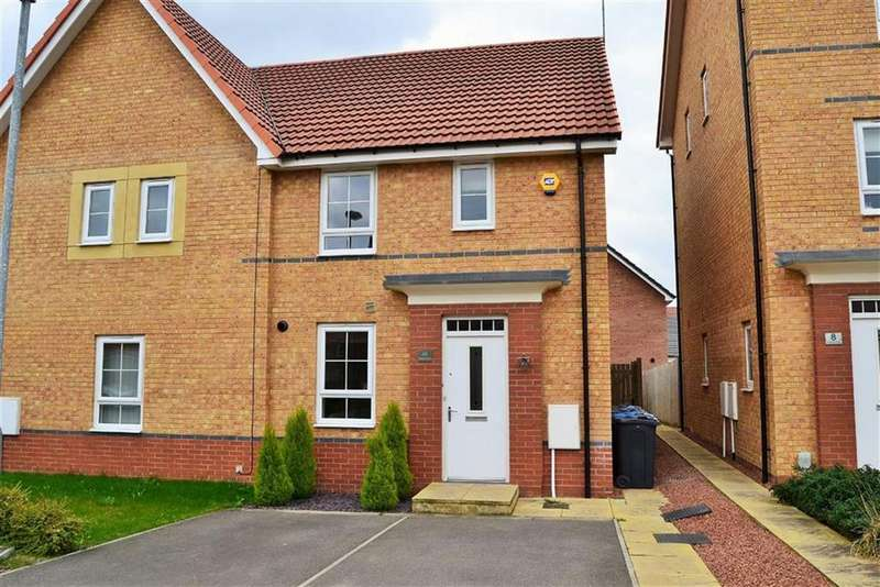3 Bedrooms Semi Detached House for sale in Holland Park, Kingswood, Hull, HU7