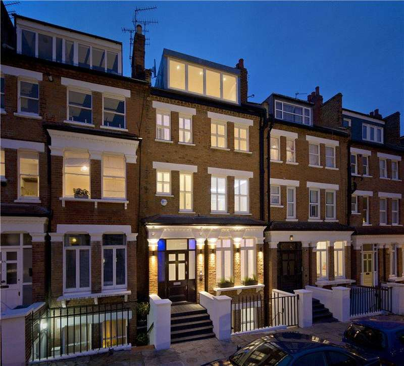 5 Bedrooms Terraced House for sale in Primrose Gardens, Belsize Park, London, NW3