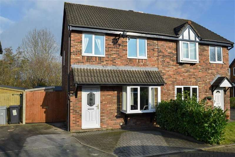 3 Bedrooms Semi Detached House for sale in Shelley Close