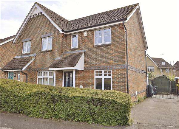 2 Bedrooms Semi Detached House for sale in ASHFORD TN24