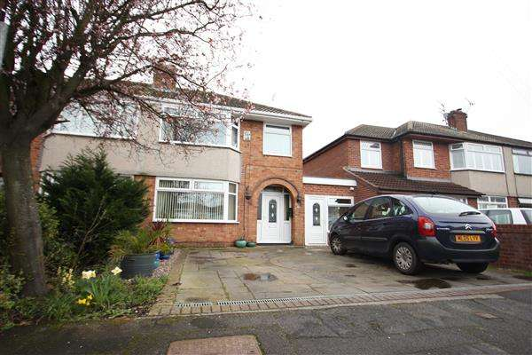 3 Bedrooms Semi Detached House for sale in Pine Grove, Ellesmere Port