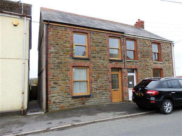 3 Bedrooms Semi Detached House for sale in Heol-Y-Parc, CEFNEITHIN, Llanelli