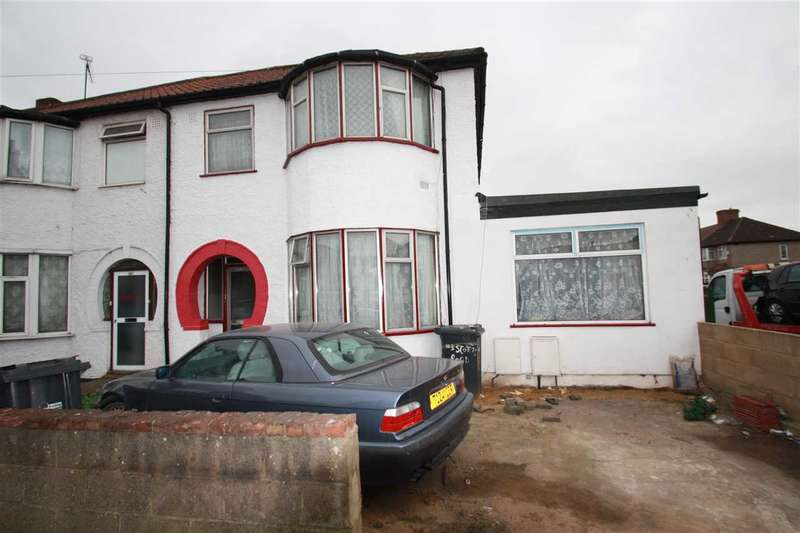 3 Bedrooms Semi Detached House for sale in Scotts Road, Southall