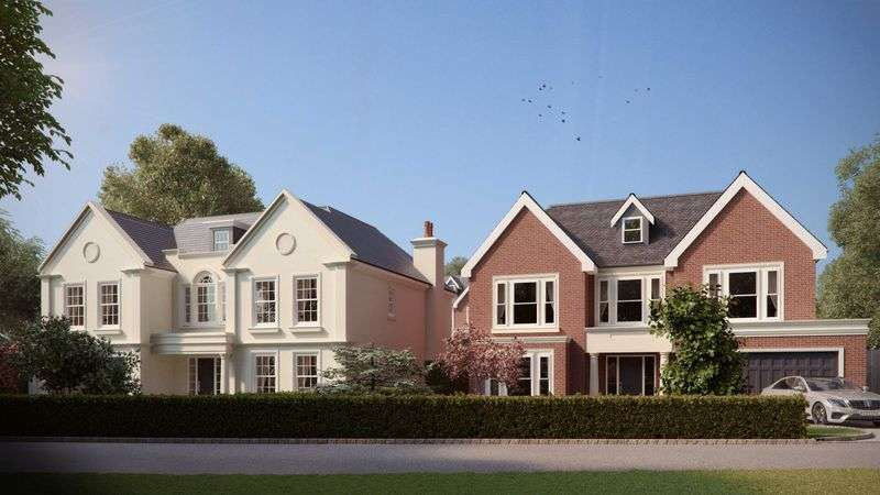 5 Bedrooms Detached House for sale in Water Lane, Cobham